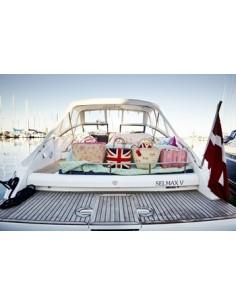 Porteur voiture vintage rose VILAC