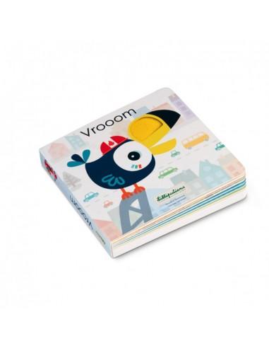 Vrooom - Livre sonore & tactile