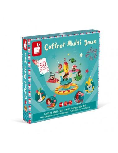Coffret multi jeux carrousel (bois et...