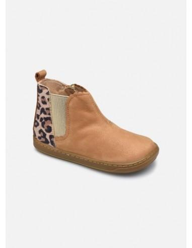 Boots fille bouba jodzip camel leo