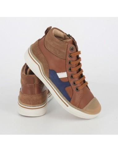 Chaussures garçon Camel Pitch Hi Lace
