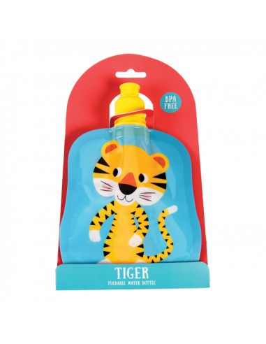 Gourde Souple Pliable Tigre