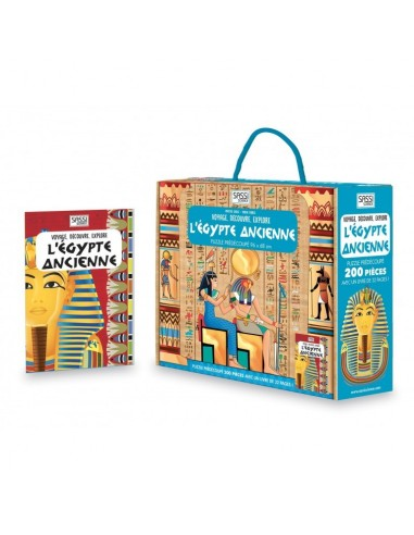 L'Égypte ancienne. Voyage, découvre,...