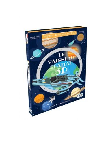 Le vaisseau spatial 3D. Voyage,...