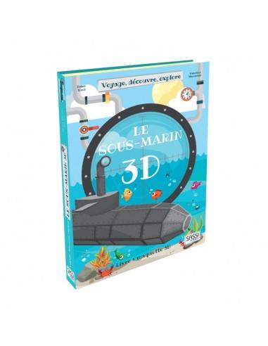 Le sous-marin 3D. Voyage, découvre,...