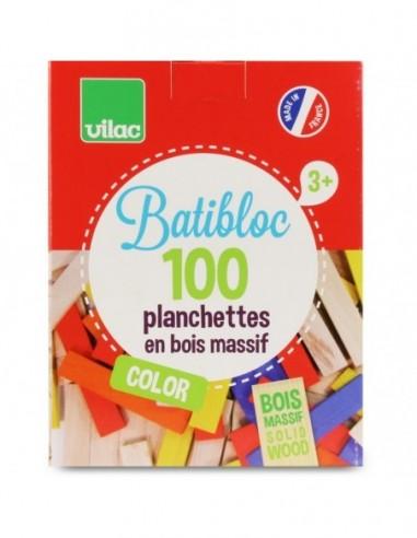 Batibloc color 100 planchettes...