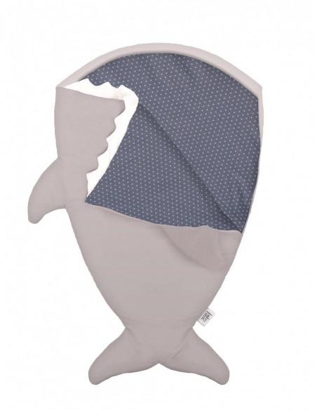 Tapis Bleu Marine étoile blanche 120X160cms Lorena Canals