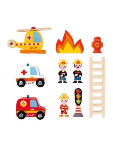 Caserne de Pompiers (bois)