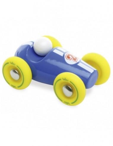 Mini course bleu/jaune