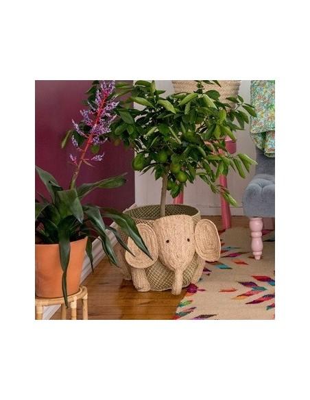 PANIER DE RANGEMENT ELEPHANT