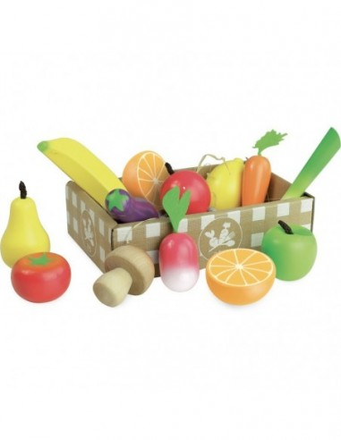 Set de fruits et légumes Jour du marché