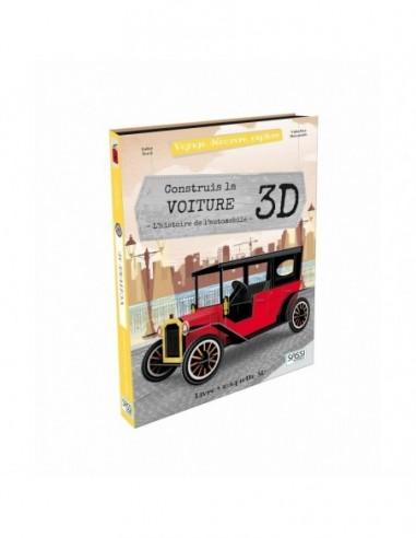 La voiture 3 D - Livre Maquette