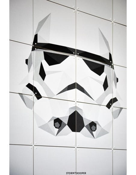 Tableau STAR WARS icone STORMTROPPER-Small