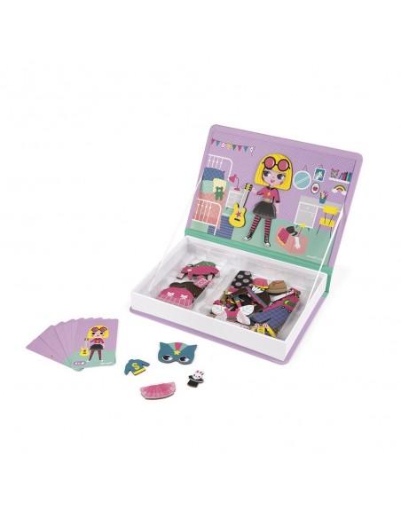 Magnéti'book déguisements fille, 46 magnets