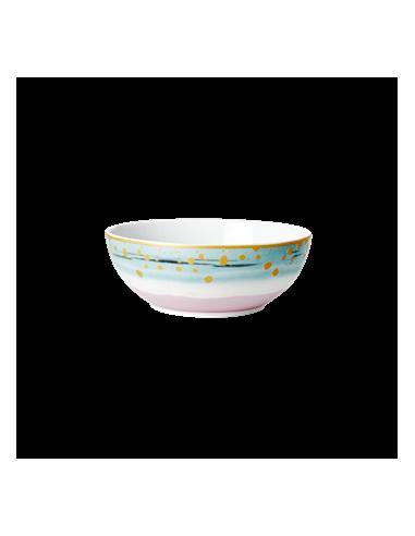 Bol petit-déjeuner en porcelaine - imprimé au colorant à immersion