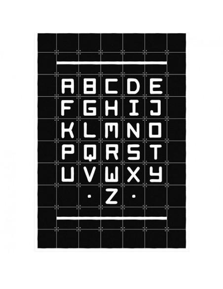 Tableau Alphabet Quotes black