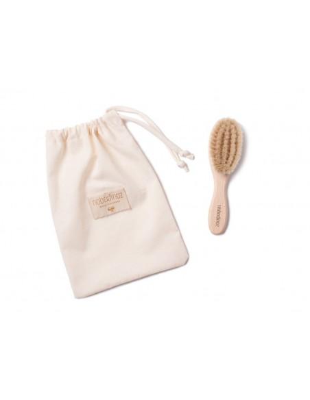 Brosse à cheveux bébé extra douce 15x3.9 natural