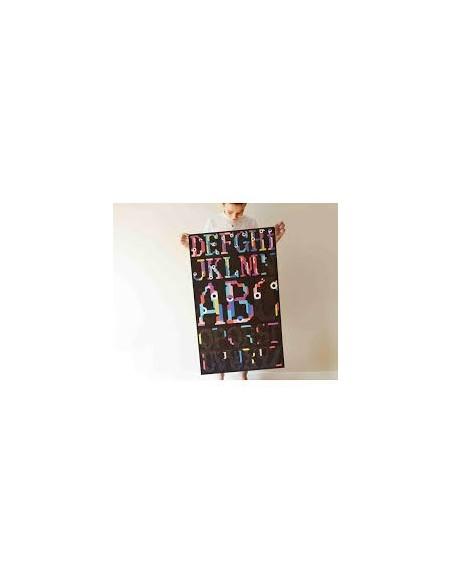 Tableau stickers Alphabet