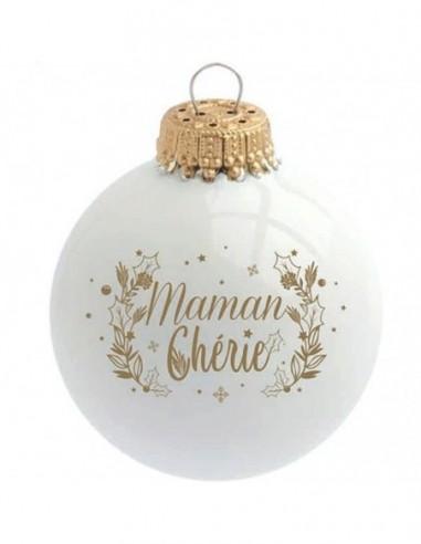 Boule de Noël Maman Chérie