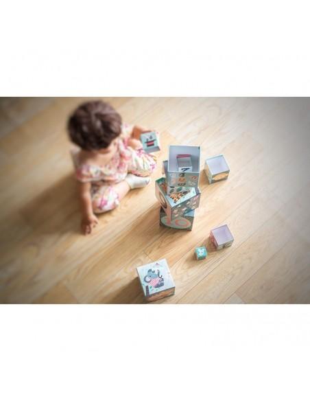 Cubes Gigognes les animaux Michelle Carlslund
