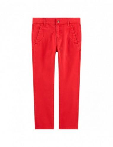 Pantalon rouge chino
