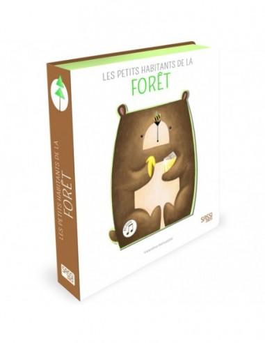 Livre sonore Les petits habitants de la forêt