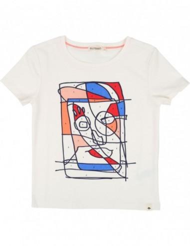 T-shirt à colorier + feutre