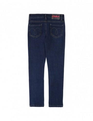 Pantalon denim coton