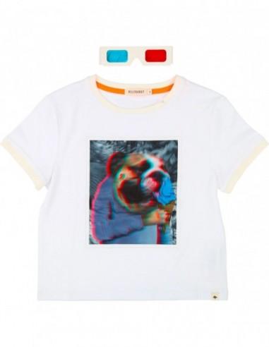 T-shirt 3D + lunettes