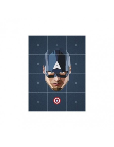 Tableau Captain America - large