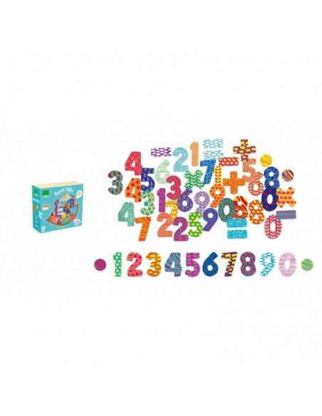 Magnets chiffres 56 pièces