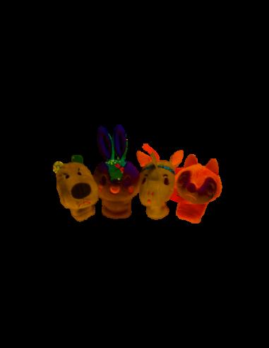 Marionnettes à Doigts de la Forêt