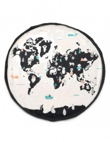 Carte Du Monde Sac De Rangement - Tapis