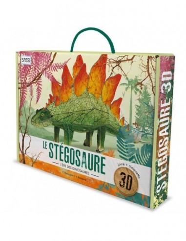 Le stégosaure 3D. L'ère des dinosaures