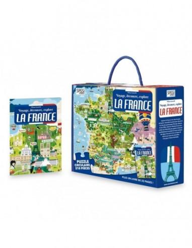 Voyage, découvre, explore. La France