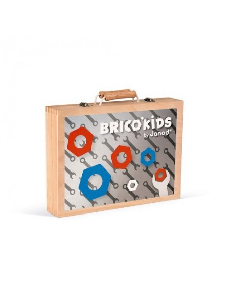 Boite à outils Brico'Kids (bois)