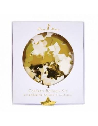 Kit ballon confettis