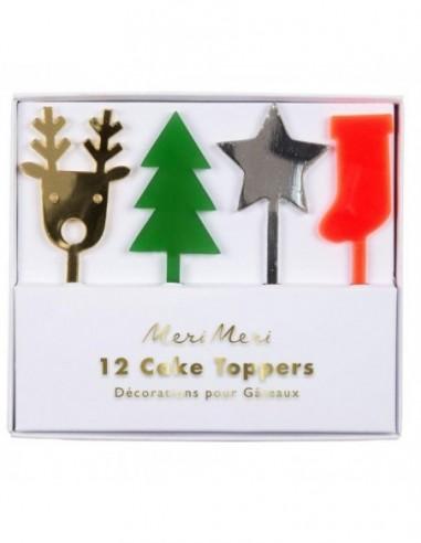 Décorations de gâteaux Noël
