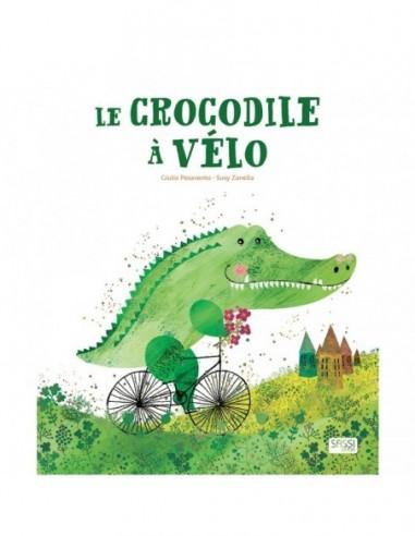 Le crocodile à vélo