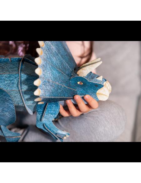 Le tricératops 3D. L'ère des dinosaures