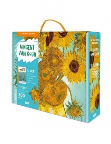La mallette de l'art. Vincent Van Gogh. Vase avec douze tournesols