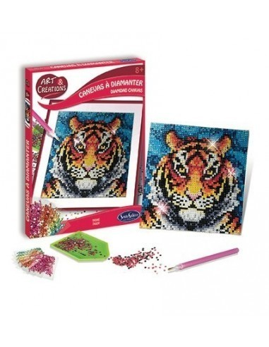 Canevas à diamanter Tigre