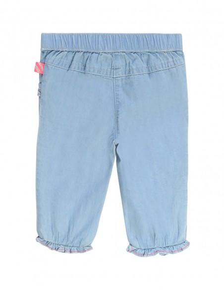 Pantalon en denim léger