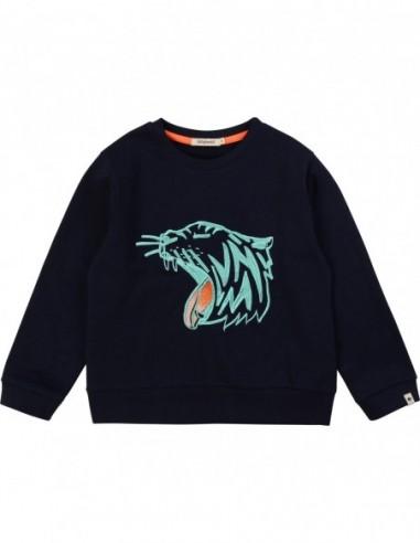 Sweatshirt molleton à imprimé