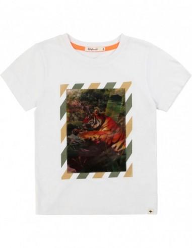 T-shirt imprimé hologramme
