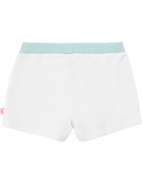 Short en molleton multicolore