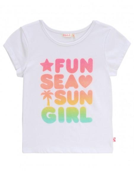 T-shirt fantaisie en coton