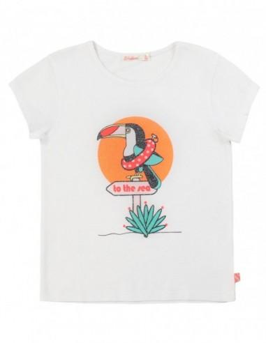 T-shirt en coton avec imprimé