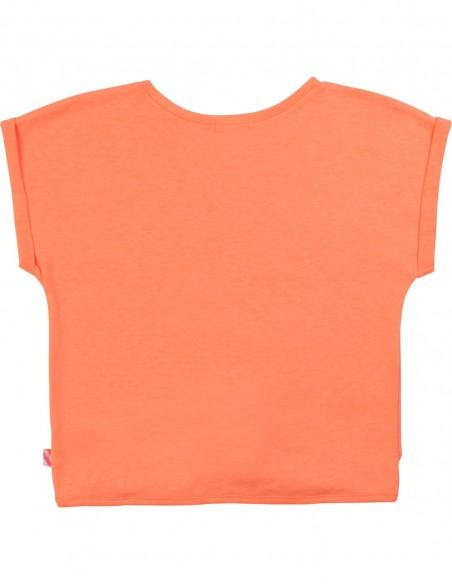 T-shirt loose base nouée