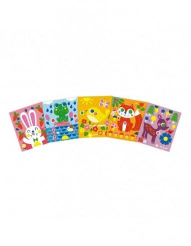 Set Créatif Stickers en Mousse Petits Amis